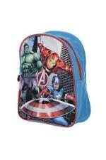 Marvel el Vengador Mochila Infantil Guardería, Iron- Man, Hulk, Captain America