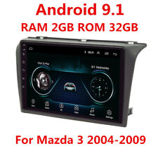 "For 2004-2009 Mazda 3 Android 9.1 Radio 9"" MP5 Stereo GPS Navigation 2GB+32GB BT"