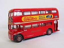 EFE AEC ROUTEMASTER PROTOTYPE RM1 BUS LONDON TRANSPORT ROUTE 2 1/76 30201