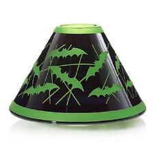 GOTHIC HALLOWEEN YANKEE CANDLE VAMPIRE BATS CANDLE SHADE TOPPER NEW BATTY BATS