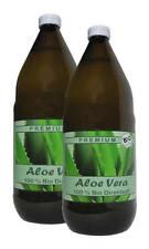 2 Liter (EUR 8,98 / L)  BIO Aloe Vera Saft 100% DIREKTSAFT IASC