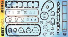 Ford/Edsel 215 223 262 OHV Full Engine Gasket Set/Kit BEST Head+Oil Pan 1952-64
