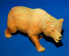 A Victorian Black Forest prowling bear figure, very well carved, antique