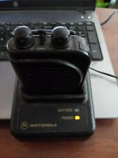 Motorola Minitor 3 Vhf Pager with Charger, 2 ch, 33/34mhz