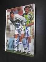 33856 Reitmaier & Greiner VFL Wolfsburg original signierte Autogrammkarte