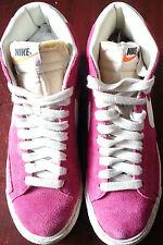 Nike Blazer Hi Suede Vintage Mens Trainers in Voltage Cheery White 344344-602
