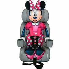 KidsEmbrace 2-in-1 Harness Booster Car Seat for older kids, Disney Minnie Mouse