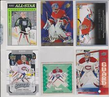 CAREY PRICE     LOT OF 6 CARDS OR INSERTS  LOT NO-713