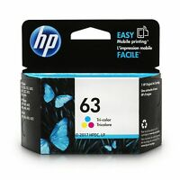 Genuine 63 Color Ink Cartridge HP Envy 4512 4516 4520 3830 4650 exp 2020