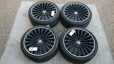 "BMW 5 & 6 SERIES OEM FACTORY STYLE 410 20""  WHEELS TIRES TPMS AND CENTER CAP SET"