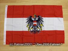 Fahnen Flagge Österreich mit Wappen - 60 x 90 cm