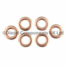 AUDI A4 AVANT 2.5 TDI QUATTRO DIESEL INJECTOR WASHERS / SEALS PACK OF 6 (DCS124)