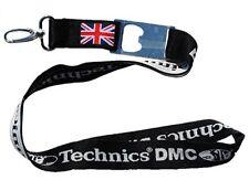 Technics / DMC Union Jack Lanyard / Schlüsselband + Flaschenöffner (WFLB)