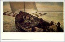 Kunst Sowjetunion Künstlerkarte Vasily Surikov UDSSR Postkarte