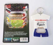 CARLSBERG BEER ENGLAND Shirt BOTTLE OPENER Keychain EURO 2012 Malaysia Collect