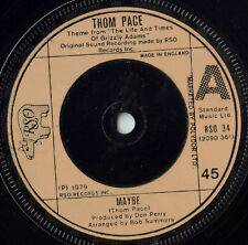 """Thom Pace – Maybe,(Grizzly Adams Theme) 7"""" vinyl"""