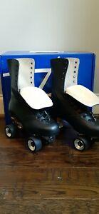 Premiun Riedell Hand Cut Leather OG 172 Roller Skates Neo Reactor Size Men's 13