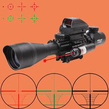 Ohhunt 4-12X50EG Holographic Red Dot Laser Sight Tactical Rifle Scopes Optics