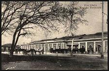 cartolina PIACENZA stazione ferroviaria