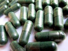 30 Organic Spirulina Capsules 500mg 100%  Vegetarian capsules Buy 2 get 1 free