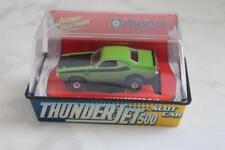 New in Jewel cube HO Thunder Jet 500 70' Dodge Challenger T/A slot car