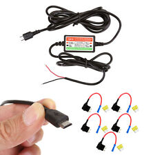 Car Micro Usb Wire Dash Cam Cable Charger Circuit Fuse Adapter Blade Fuse Holder