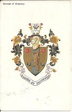 Postcard, United Kingdom, Borough of Brighthouse, Coat of Arms, mailed 1906?