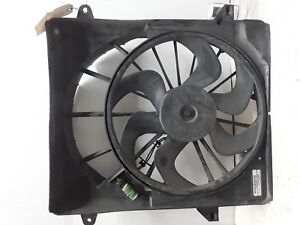 08 09 10 11 12 Jeep Liberty engine cooling fan assembly OEM shroud chipped