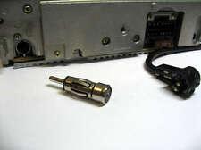 ANTENNA Auto / Adattatore Antenna Autoradio Iso a Din per Panasonic PIONEER Clarion