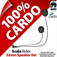 Nuevo Cardo Scala Rider 32 mm Juego de altavoces para Smartpack PackTalk G9x G9 Q3 Q1 Qz