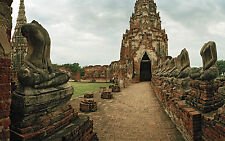Framed Print - Ruins of Wat Chaiwatthanaram Ayutthaya, Thailand (Picture Poster)