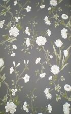 Gracie Floral Print on Charcoal Background from Black & White by York AB2121