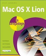 Mac OS X Lion In Easy Steps, Vandome, Nick, Very Good condition, Book