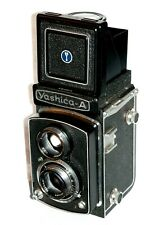Yashica A Medium Format Tlr Film Camera Perfect Working! Cla