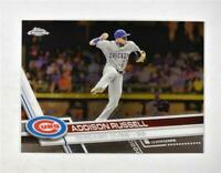 2017 Topps Chrome #36 Addison Russell - NM-MT