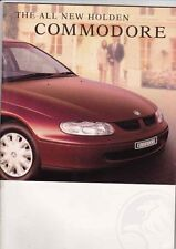 1997 HOLDEN VT COMMODORE 34p Prestige Brochure S SS BERLINA ACCLAIM EXECUTIVE