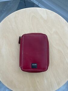 ACME Made Travel Regular Leather Case for your iPod - Red