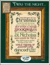 'Twas the Night ... by Sue Hillis - Christmas cross stitch pattern