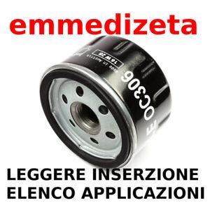 KNECHT MAHLE OC306 Filtro olio Bmw Specifica per BMW R K 1200 1600 RT ST