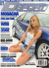 D Sport Magazine Modacar & Pro Am FWD Sasha Singleton June 2004 061218nonr