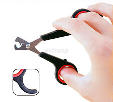 New Black Nail Grooming Clippers Toe Trimmer Scissors Tool for Pet Dog Cat CA