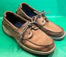 MENS SPERRY TOP SIDER Lanyard 2-EYED BOAT SHOES 0777924 SIZE 8M
