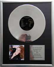 "Celine Dion - in love CD Cover + 12"" Vinyl goldene / platin Schallplatte"