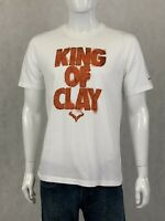 Mens NIKE UT Texas Longhorns King of Clay Graphic T-Shirt STEER Size LARGE L