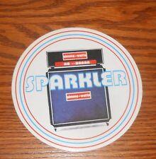 "Sparkler Sticker Circle Decal Promo 4"""