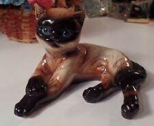 Vintage Mint Goebel  Siamese Cat Figurine W. Germany, #31 02710
