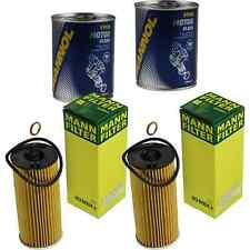 2x Original MANN Ölfilter HU 6004 x + 2x SCT Motor Flush Motorspülung