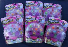 Shopkins Season 2 (12 Pack) Rare Party Favor Toys Fluffy Baby Blind Bags Basket