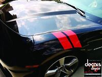 Hash Mark Stripes Double Bar Side Fender Stripe Grand Sport Decal Universal Cars