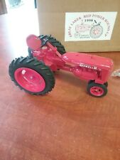 McCormick Farmall Super C, Great Lakes Red Power Round- Up 1998, Plastic